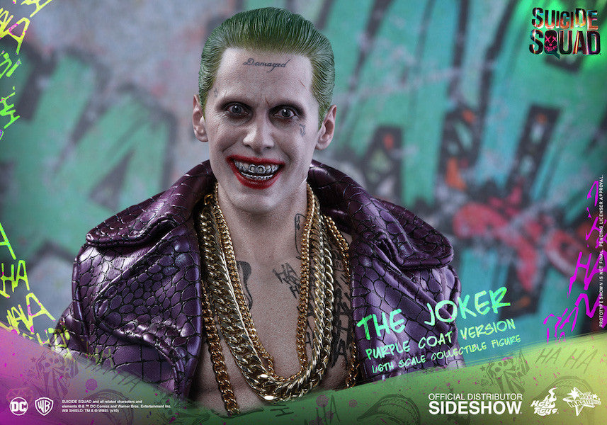 Suicide Squad Joker (Purple Coat Version) 1/6th Scale Figure by Hot Toys-Hot Toys- www.superherotoystore.com-Action Figure - 10