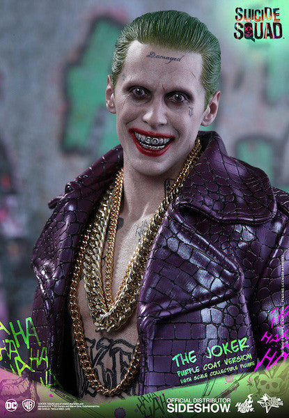 Suicide Squad Joker (Purple Coat Version) 1/6th Scale Figure by Hot Toys-Hot Toys- www.superherotoystore.com-Action Figure - 12