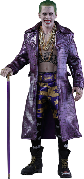 Suicide Squad Joker (Purple Coat Version) 1/6th Scale Figure by Hot Toys-Hot Toys- www.superherotoystore.com-Action Figure - 1