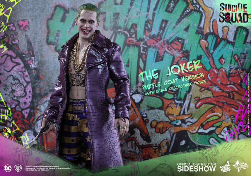 Suicide Squad Joker (Purple Coat Version) 1/6th Scale Figure by Hot Toys-Hot Toys- www.superherotoystore.com-Action Figure - 2