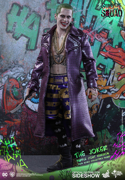 Suicide Squad Joker (Purple Coat Version) 1/6th Scale Figure by Hot Toys-Hot Toys- www.superherotoystore.com-Action Figure - 4