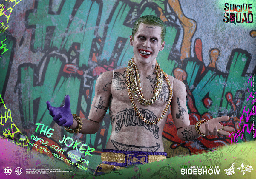 Suicide Squad Joker (Purple Coat Version) 1/6th Scale Figure by Hot Toys-Hot Toys- www.superherotoystore.com-Action Figure - 6