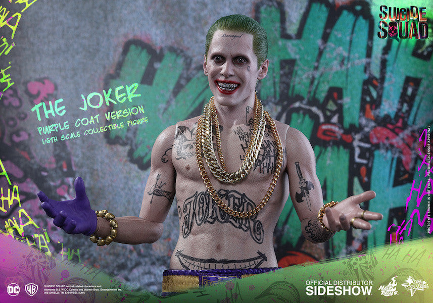 Suicide Squad Joker (Purple Coat Version) 1/6th Scale Figure by Hot Toys-Hot Toys- www.superherotoystore.com-Action Figure - 7