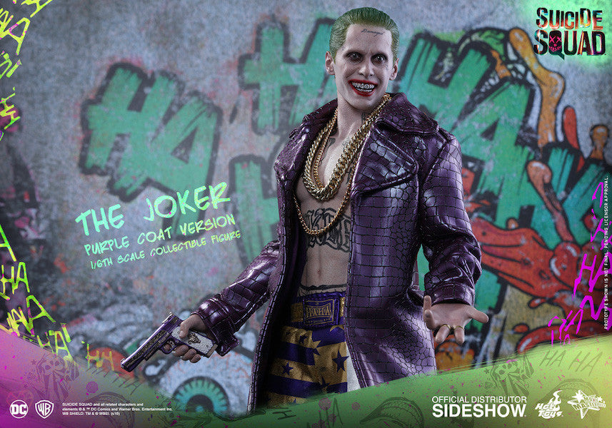 Suicide Squad Joker (Purple Coat Version) 1/6th Scale Figure by Hot Toys-Hot Toys- www.superherotoystore.com-Action Figure - 8