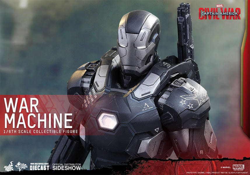 War Machine Mark III Sixth Scale Figure by Hot Toys-Hot Toys- www.superherotoystore.com-Action Figure - 2