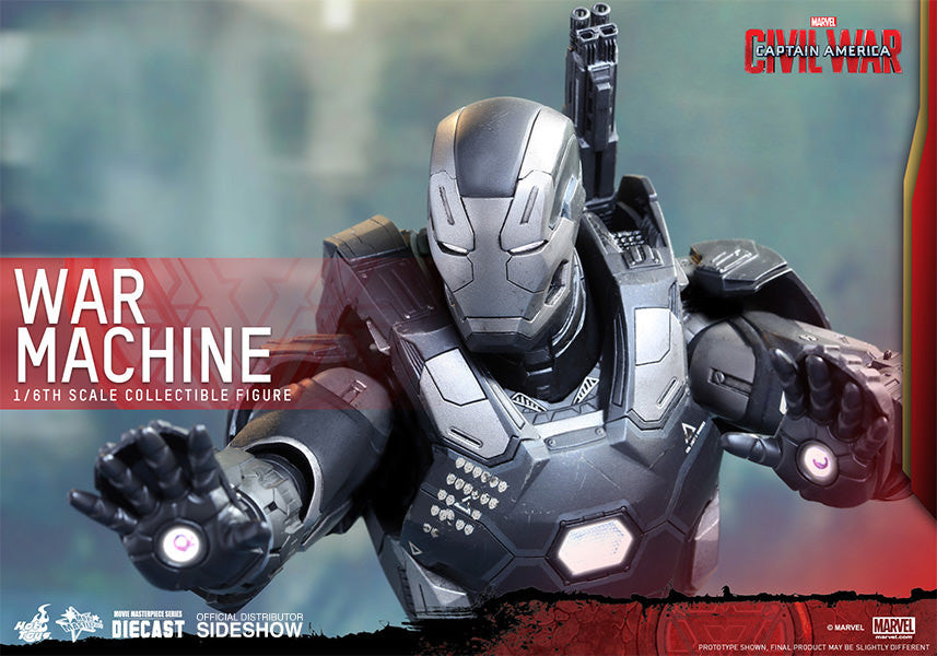 War Machine Mark III Sixth Scale Figure by Hot Toys-Hot Toys- www.superherotoystore.com-Action Figure - 11
