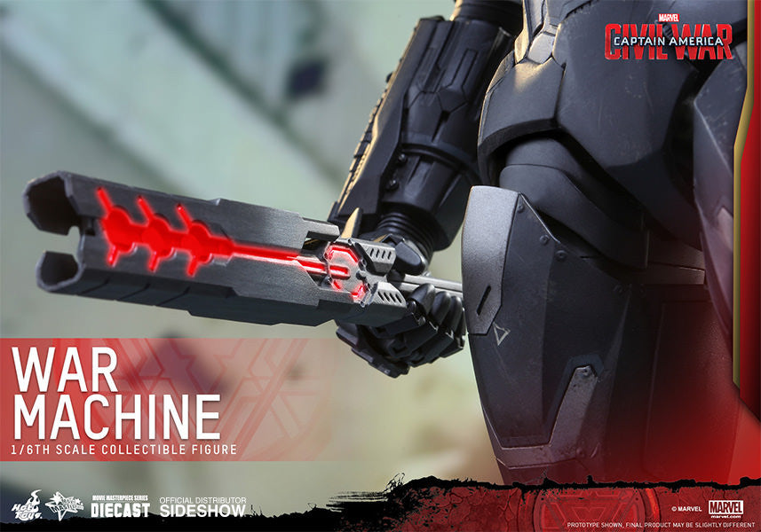 War Machine Mark III Sixth Scale Figure by Hot Toys-Hot Toys- www.superherotoystore.com-Action Figure - 12