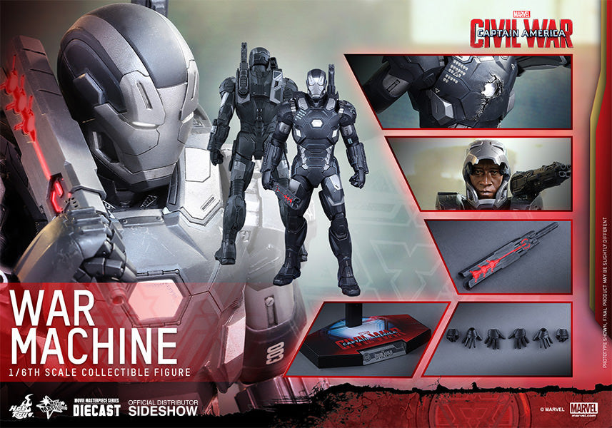 War Machine Mark III Sixth Scale Figure by Hot Toys-Hot Toys- www.superherotoystore.com-Action Figure - 13