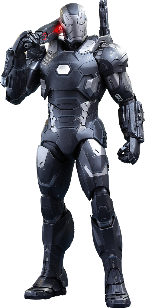 War Machine Mark III Sixth Scale Figure by Hot Toys-Hot Toys- www.superherotoystore.com-Action Figure - 1