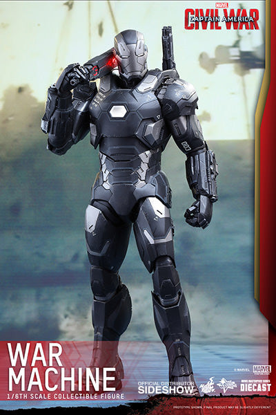 War Machine Mark III Sixth Scale Figure by Hot Toys-Hot Toys- www.superherotoystore.com-Action Figure - 3