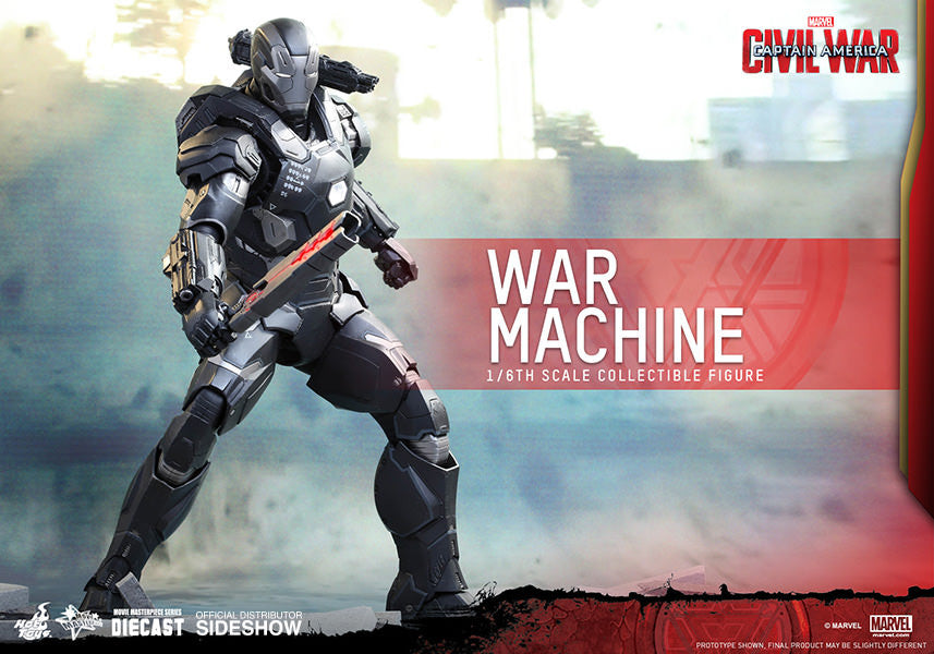 War Machine Mark III Sixth Scale Figure by Hot Toys-Hot Toys- www.superherotoystore.com-Action Figure - 4