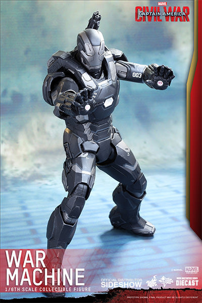 War Machine Mark III Sixth Scale Figure by Hot Toys-Hot Toys- www.superherotoystore.com-Action Figure - 5