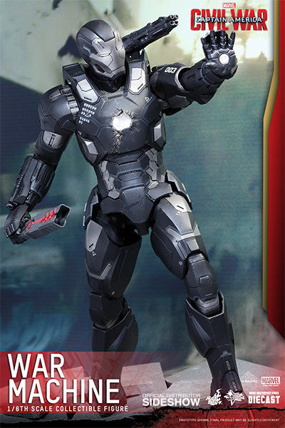 War Machine Mark III Sixth Scale Figure by Hot Toys-Hot Toys- www.superherotoystore.com-Action Figure - 6