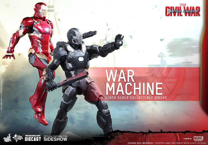War Machine Mark III Sixth Scale Figure by Hot Toys-Hot Toys- www.superherotoystore.com-Action Figure - 7
