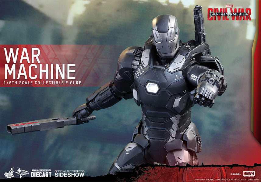 War Machine Mark III Sixth Scale Figure by Hot Toys-Hot Toys- www.superherotoystore.com-Action Figure - 8