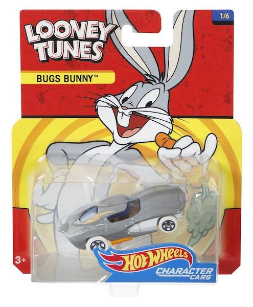 Looney Tunes Character Cars: Bugs Bunny By Hot Wheels