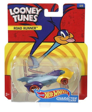 Looney Tunes Character Cars: Road Runner By Hot Wheels