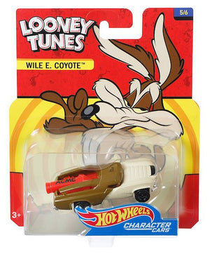 Looney Tunes Character Cars: Wile E Coyote by Hot Wheels