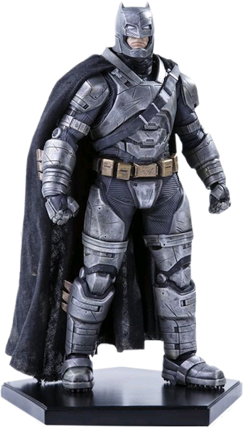Dawn Of Justice Armored Batman Statue by Iron Studios