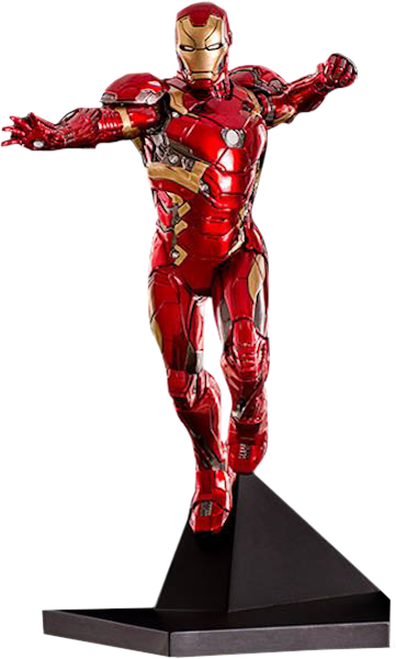 Captain America Civil War: Iron Man 1:10th Art Scale Statue by Iron Studios