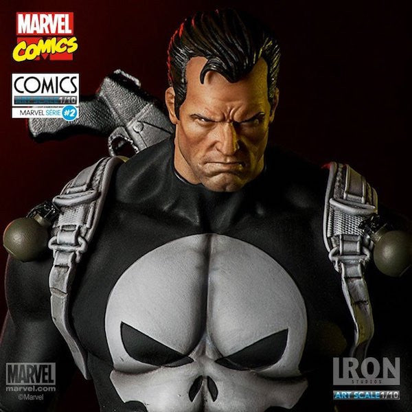 The Punisher Art Scale Statue by Iron Studios
