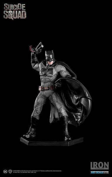 Suicide Squad Batman Art Scale Statue by Iron Studios