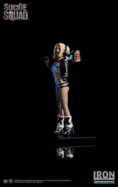 Suicide Squad Harley Quinn 1:10th Art Scale Statue by Iron Studios