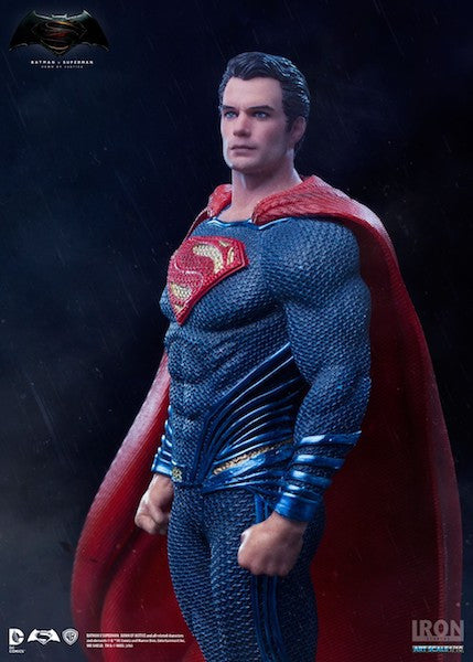 Batman vs Superman: Dawn of Justice Superman Statue by Iron Studios-Iron Studios- www.superherotoystore.com-Statue - 3