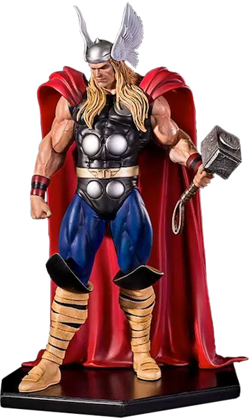 Marvel Comics Thor Art Scale Statue by Iron Studios