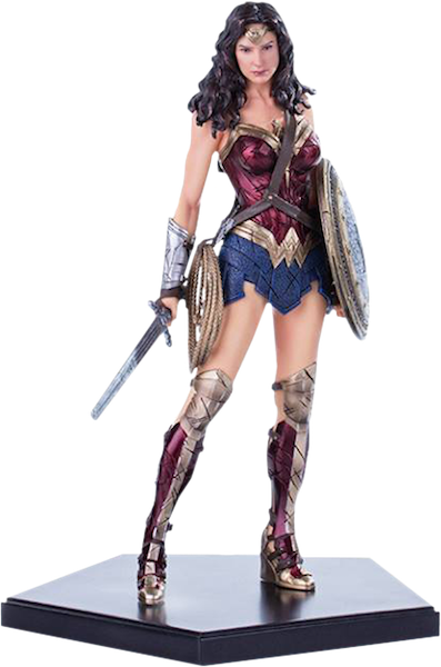 Batman vs Superman: Dawn of Justice Wonder Woman Statue by Iron Studios-Iron Studios- www.superherotoystore.com-Statue - 1