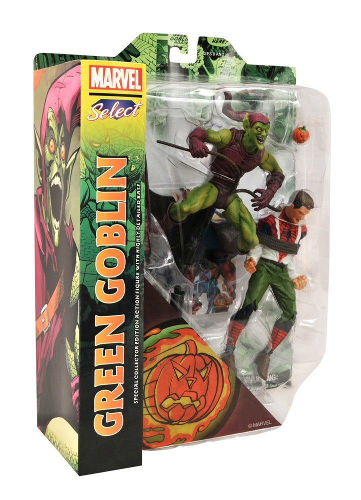 Marvel Select Classic Green Goblin vs. Spider Man Action Figure-Diamond Select toys- www.superherotoystore.com-Action Figure - 2