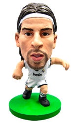 Sami Khedira - Real Madrid Home Kit-Soccer Starz- www.superherotoystore.com-Action Figure - 1