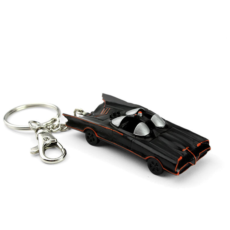 Classic Batman TV Series Batmobile Figural Key Chain by NJ Croce-NJ Croce- www.superherotoystore.com-Keychains - 1