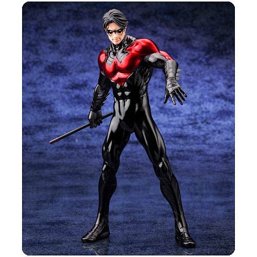 DC Comics Justice League New 52 Nightwing 1/10 Artfx Statue-Kotobukiya- www.superherotoystore.com-Action Figure - 3