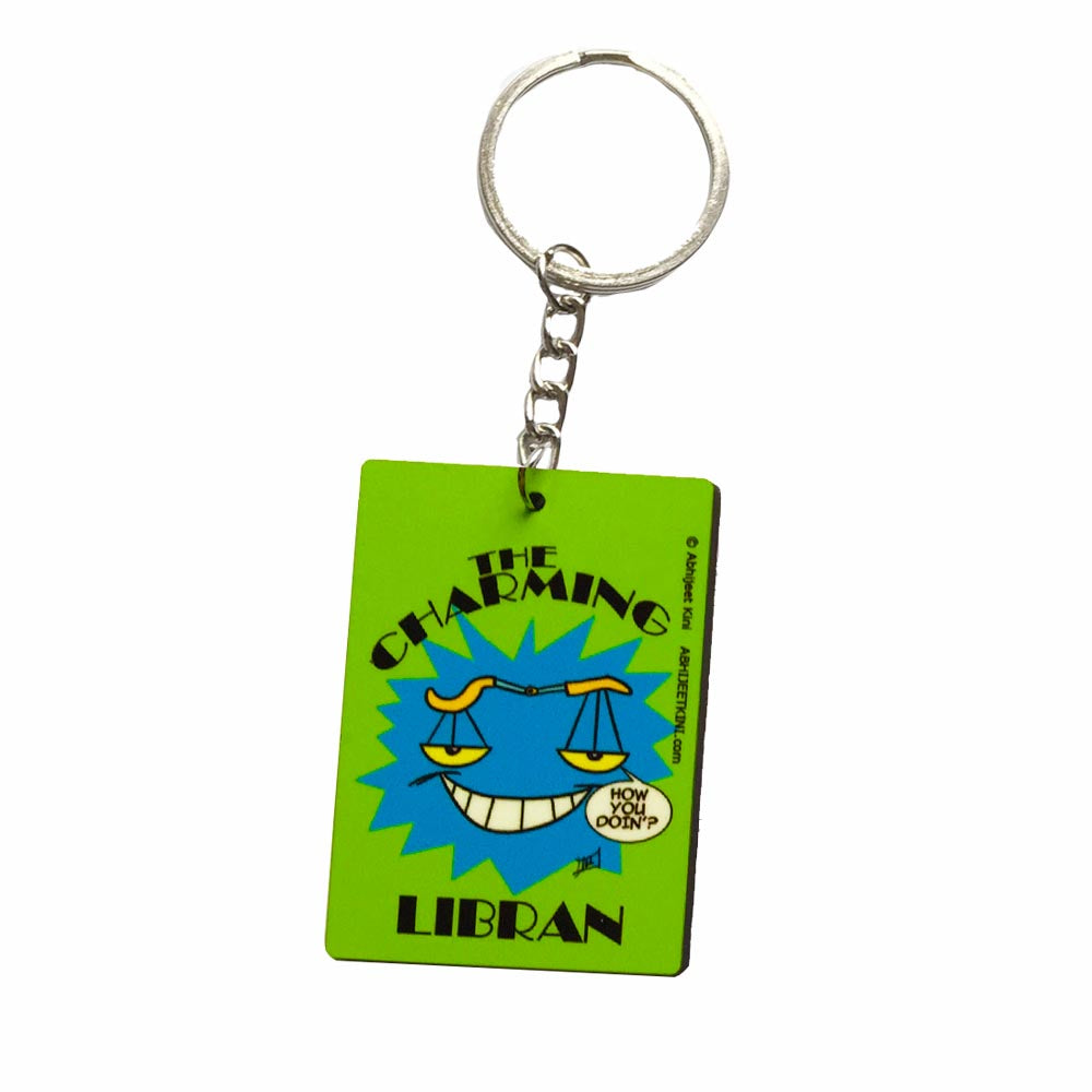 The Charming Libran Keychain -Kini Studios - India - www.superherotoystore.com