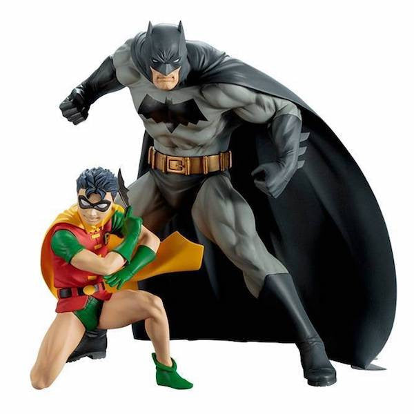 Batman and Robin 2 Pack Artfx+ Figure by Kotobukiya-Kotobukiya- www.superherotoystore.com-Statue - 1