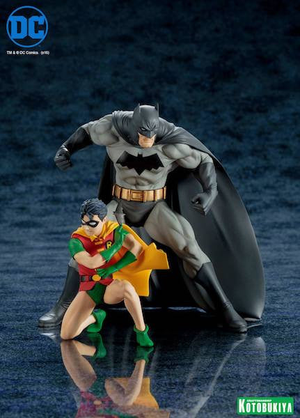Batman and Robin 2 Pack Artfx+ Figure by Kotobukiya-Kotobukiya- www.superherotoystore.com-Statue - 2