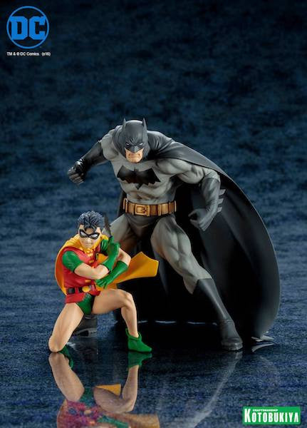 Batman and Robin 2 Pack Artfx+ Figure by Kotobukiya-Kotobukiya- www.superherotoystore.com-Statue - 3