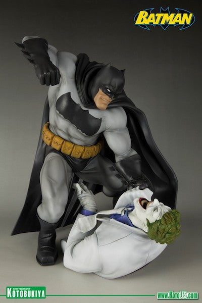 Dark Knight Returns: Batman Vs Joker ArtFx Statue by Kotobukiya-Kotobukiya- www.superherotoystore.com-Statue - 2