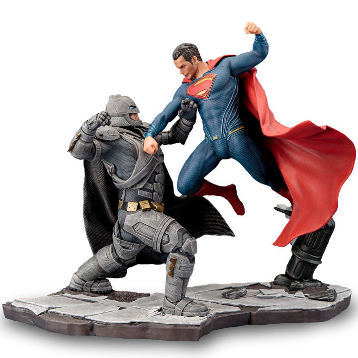 Dawn of Justice Superman ArtFX+ Figure by Kotobukiya-Kotobukiya- www.superherotoystore.com-Statue - 2