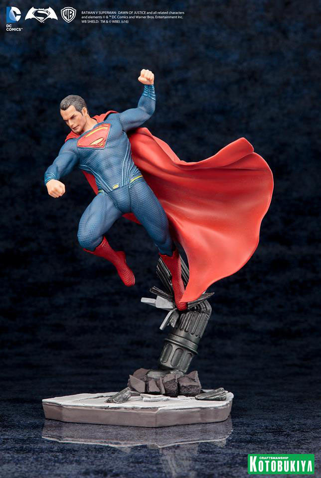Dawn of Justice Superman ArtFX+ Figure by Kotobukiya-Kotobukiya- www.superherotoystore.com-Statue - 4