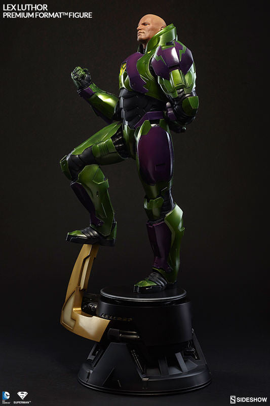 Lex Luthor 1/4th Scale Premium Format Figure by Sideshow Collectibles-Sideshow Collectibles- www.superherotoystore.com-Statue - 3