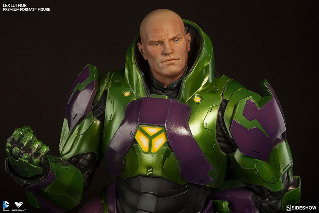 Lex Luthor 1/4th Scale Premium Format Figure by Sideshow Collectibles-Sideshow Collectibles- www.superherotoystore.com-Statue - 2