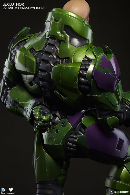 Lex Luthor 1/4th Scale Premium Format Figure by Sideshow Collectibles-Sideshow Collectibles- www.superherotoystore.com-Statue - 6