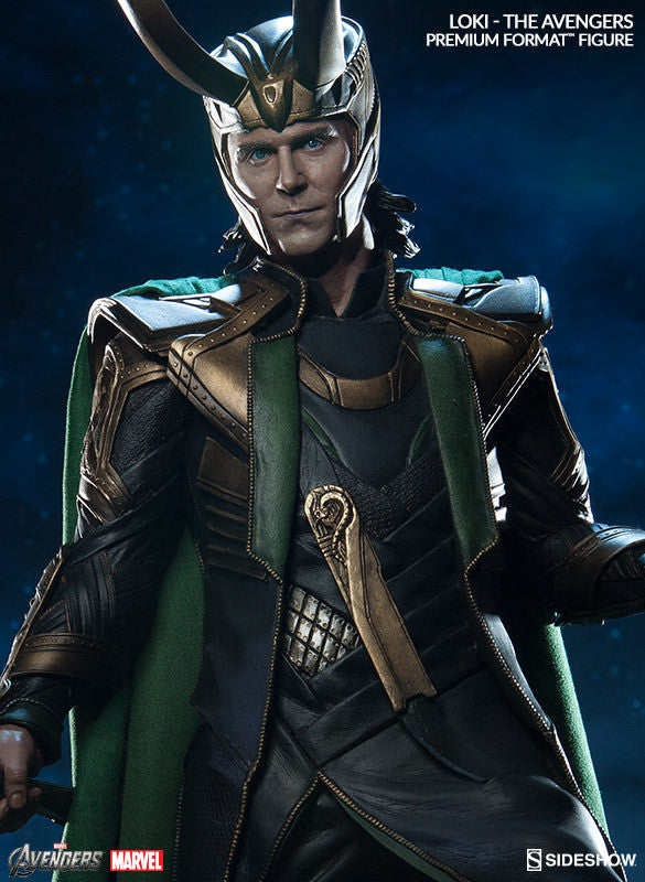 Loki 1/4th Scale Premium Format Statue by Sideshow Collectibles-Sideshow Collectibles- www.superherotoystore.com-Statue - 2