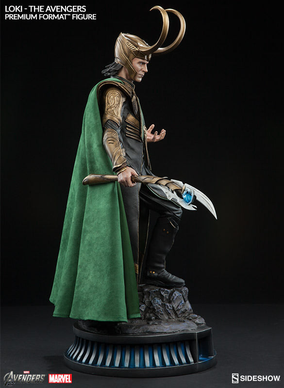 Loki 1/4th Scale Premium Format Statue by Sideshow Collectibles-Sideshow Collectibles- www.superherotoystore.com-Statue - 4