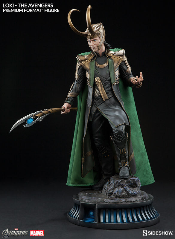 Loki 1/4th Scale Premium Format Statue by Sideshow Collectibles-Sideshow Collectibles- www.superherotoystore.com-Statue - 3