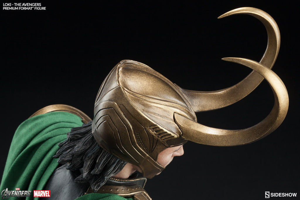 Loki 1/4th Scale Premium Format Statue by Sideshow Collectibles-Sideshow Collectibles- www.superherotoystore.com-Statue - 8