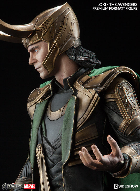 Loki 1/4th Scale Premium Format Statue by Sideshow Collectibles-Sideshow Collectibles- www.superherotoystore.com-Statue - 6