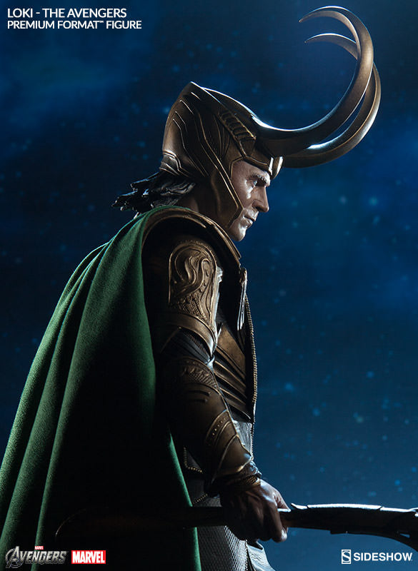 Loki 1/4th Scale Premium Format Statue by Sideshow Collectibles-Sideshow Collectibles- www.superherotoystore.com-Statue - 7